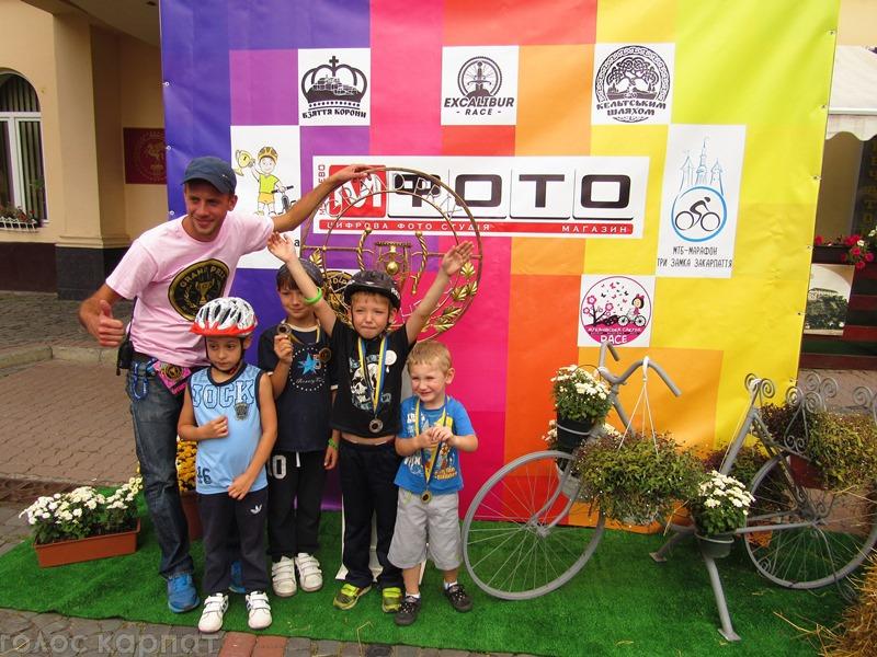 Grand Prix junior. У Мукачеві пройшла масштабна дитяча велоподія
