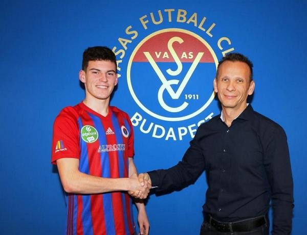 Вісімнадцятирічний півзахисник з обласного центру Закарпаття змінив клуб у другій лізі Угорщини.