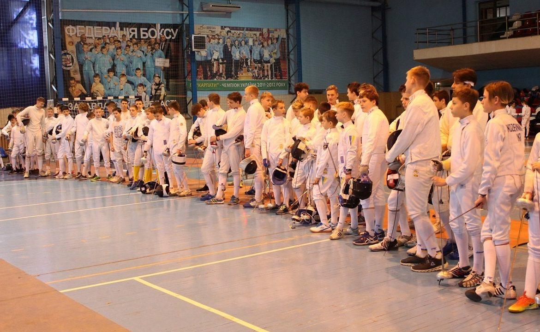 Майже 300 фехтувальників змагалися на закарпатському етапі Всеукраїнської дитячої ліги
