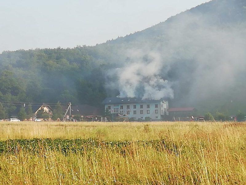 Пожежа сталася у Великоберезнянському районі.