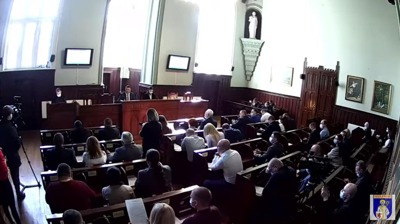 На сесії у Мукачеві депутати підтримали рішення