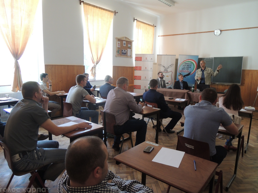 Молоді угорські підприємці Закарпаття організували курс навчання / ФОТО