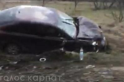 Сьогодні, 19 лютого, у с.Луково близько 11:30 легковий автомобіль марки Škoda з'їхав у кювет.