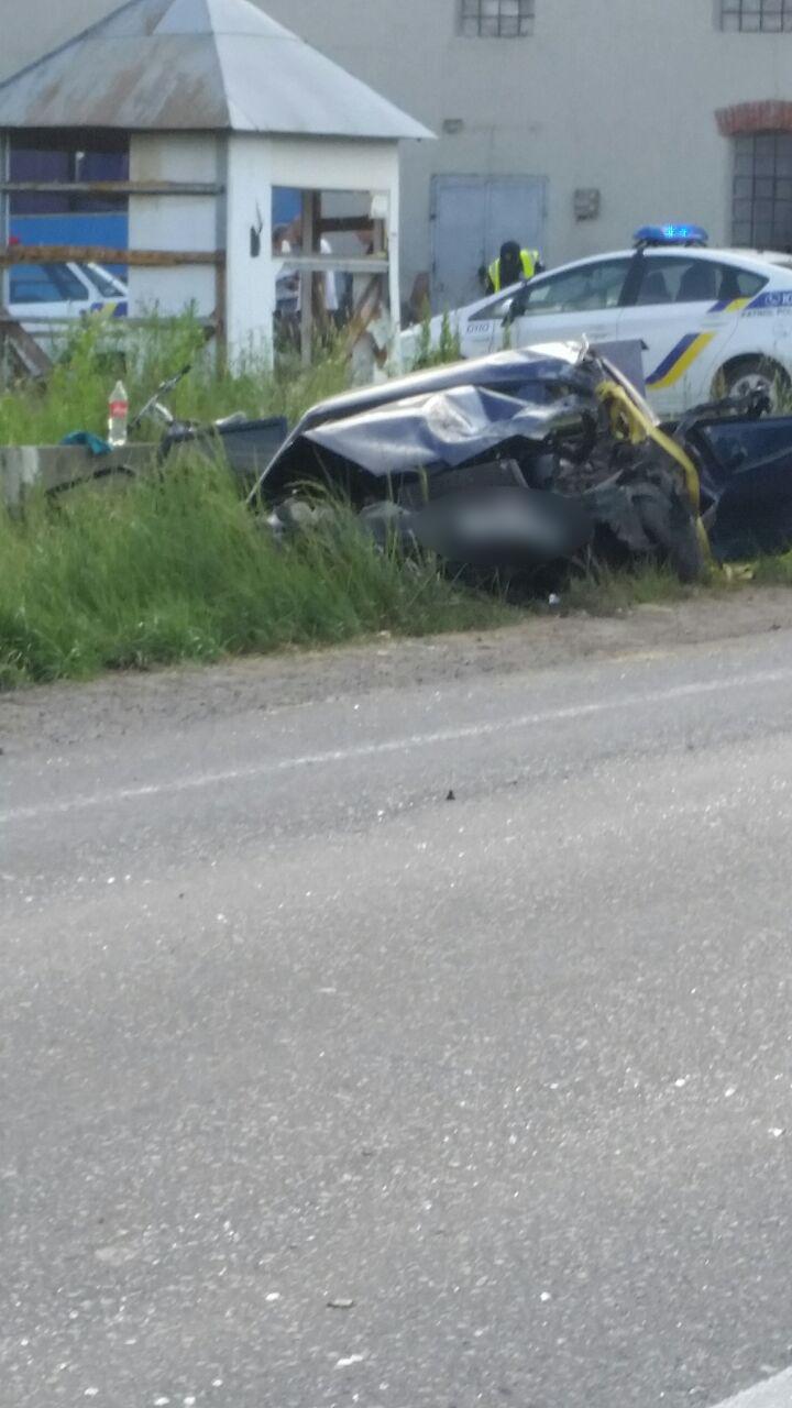 Аварія на трасі в Ракошині:
