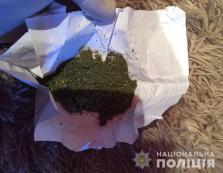 Під час обшуку будинку жителя села Великі Береги поліція знайшла наркотики