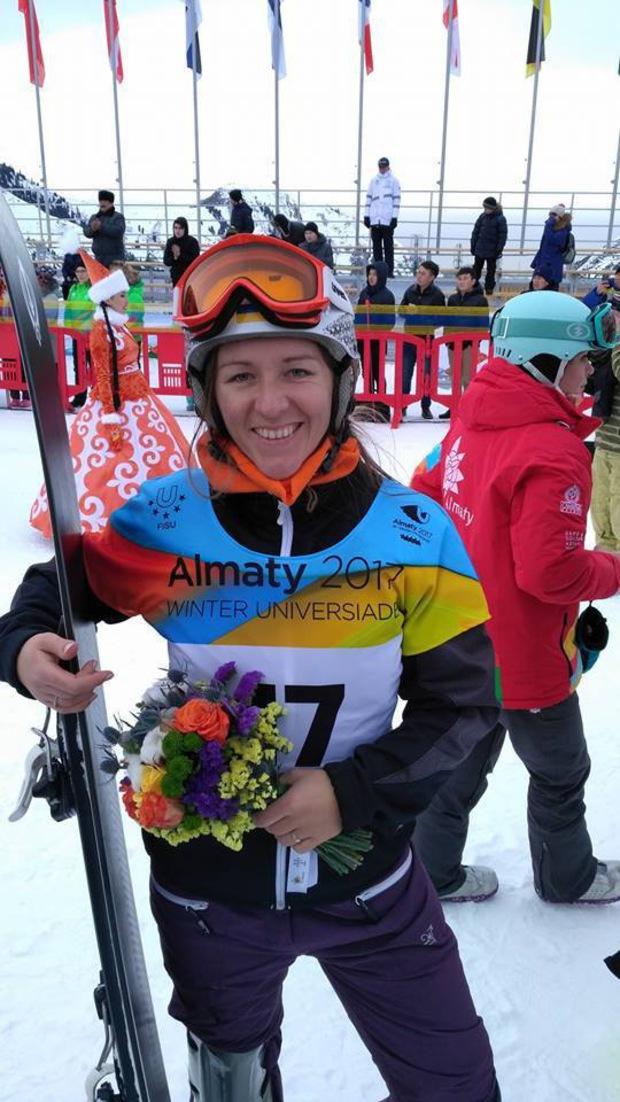 Гордість краю! Закарпатська сноубористка завоювала Україні першу медаль на зимовій Універсіаді у Казахстані