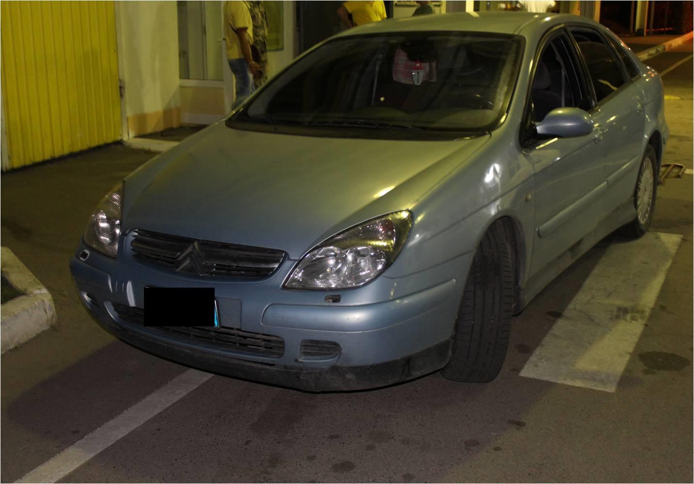Автомобіль марки «SITROEN»,  викрадений на території Італії, в червні цього року, виявили сьогодні вночі прикордонники Мукачівського загону.