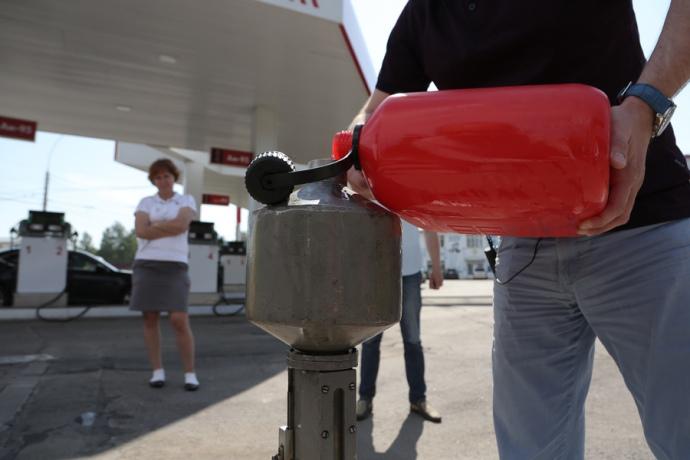 За місяць (1-31 липня) середня ціна палива на АЗС зросла на 0,75 грн/л, свідчать дані щоденного цінового моніторингу