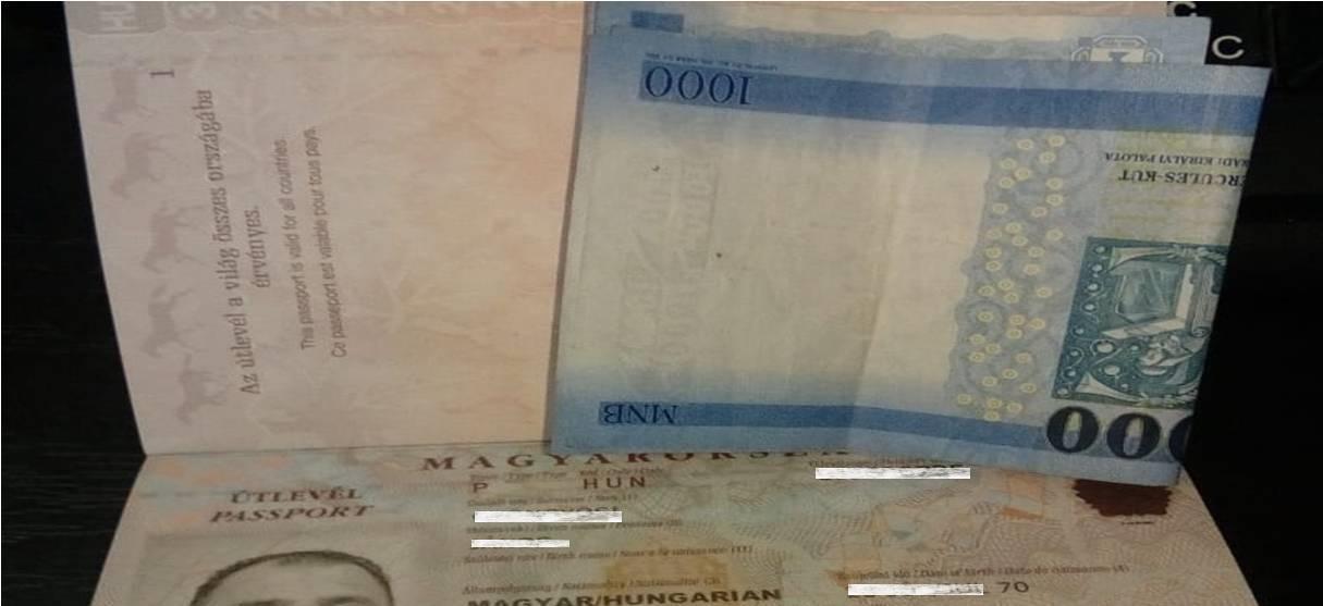 Прикордонники взяти гроші відмовилися.