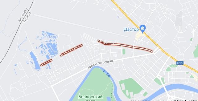 В Ужгороді вулицю Гвардійську хочуть перейменувати на Подружжя Ганичів.