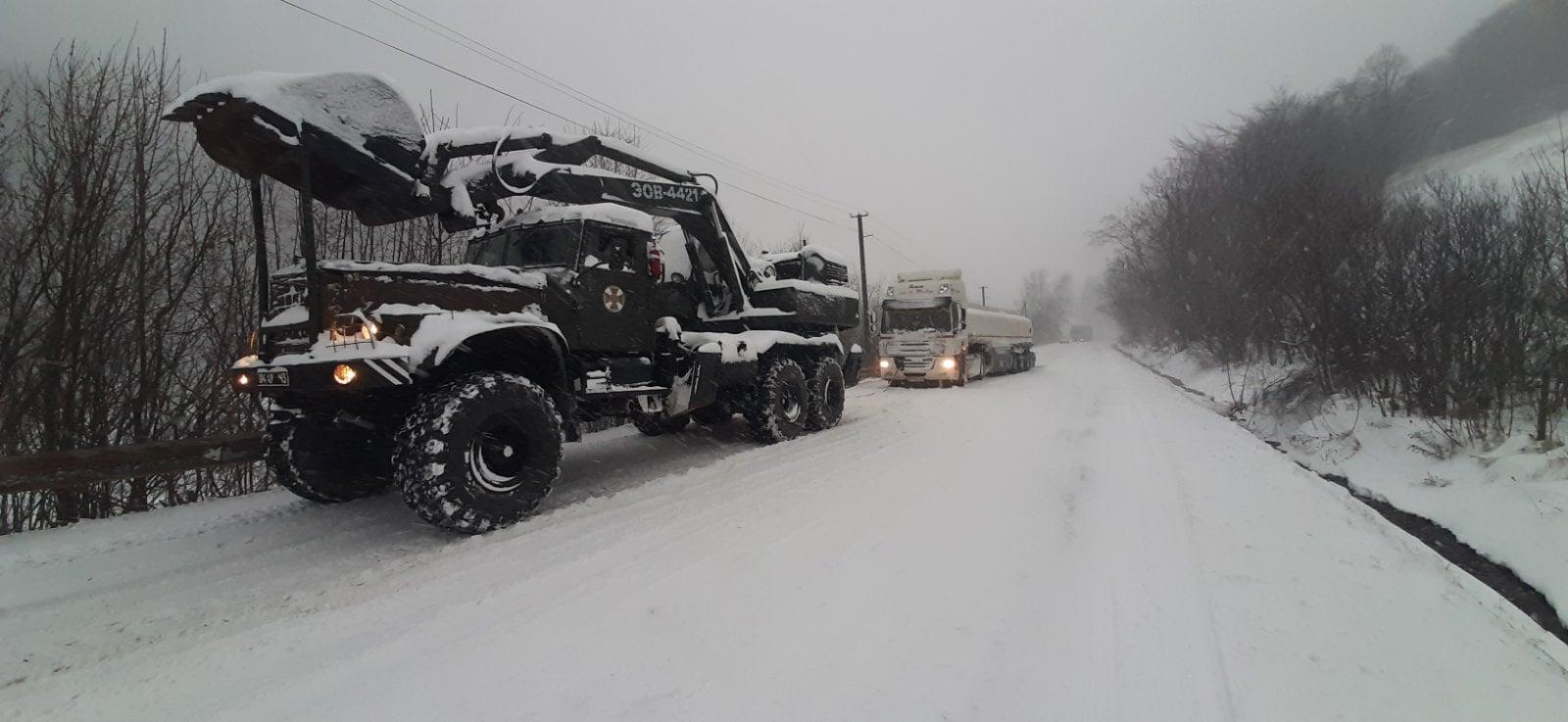 Вчорашнє погіршення погодних умов додало роботи закарпатським рятувальникам.