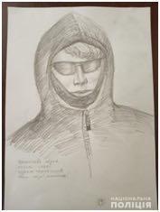 Поліція оприлюднила фотороботи чоловіків, яких підозрюють у замаху на Андрія Іванківа.