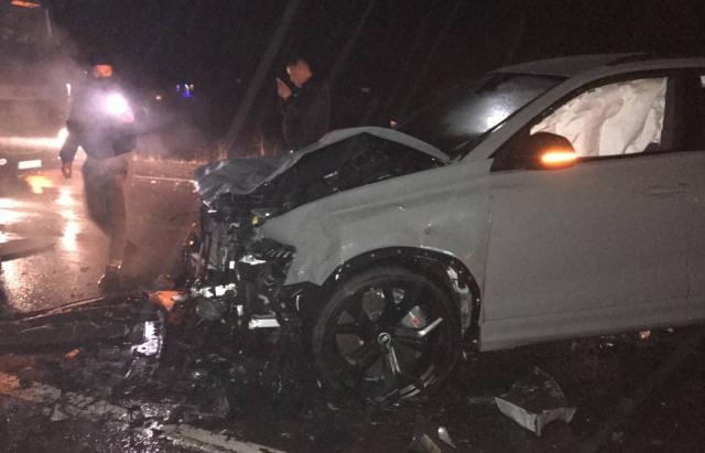 Аварія сталась ввечері 30 грудня неподалік села Глибоке, що на Ужгородщині.