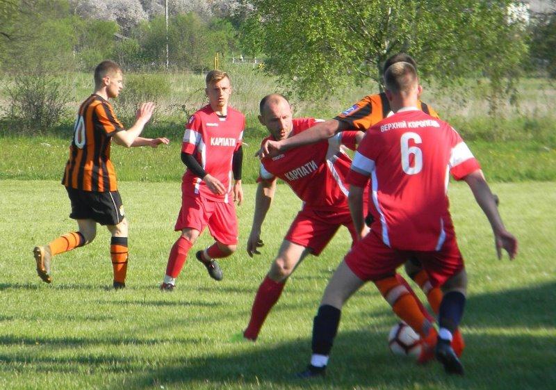 Днями відбулися поєдинки 2-го туру чемпіонату Мукачівського району з футболу 2021.