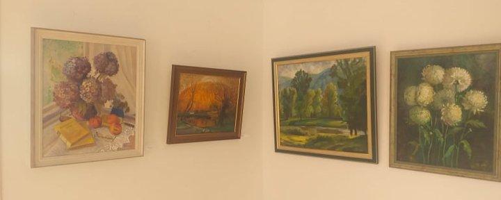 48 робіт представила сьогодні на виставці художниця Ольга Скакандій. Експозицію відкрили в галереї
