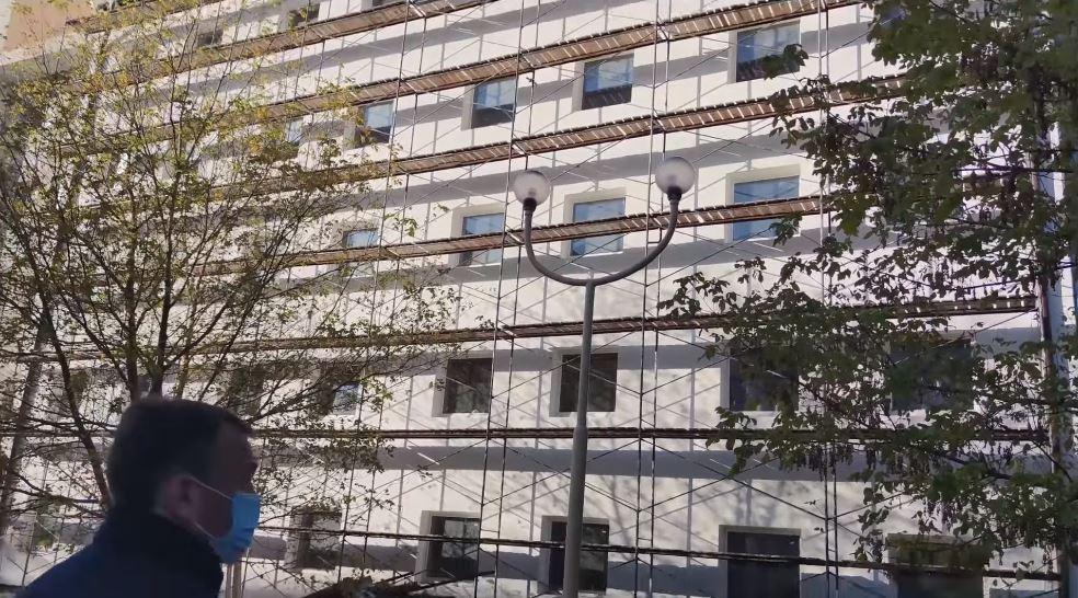 Відділ капітального будівництва Закарпатської ОДА розірвав договір із недобросовісним підрядником по об'єкту «Районна лікарня м. Берегово - будівництво».