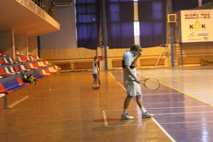 Участь у змаганнях взяли 35 тенісистів з Києва, західної України та Закарпаття.