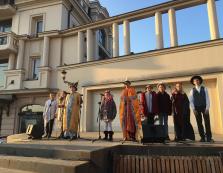 В Ужгороді колядували на центральній площі (ВІДЕО)