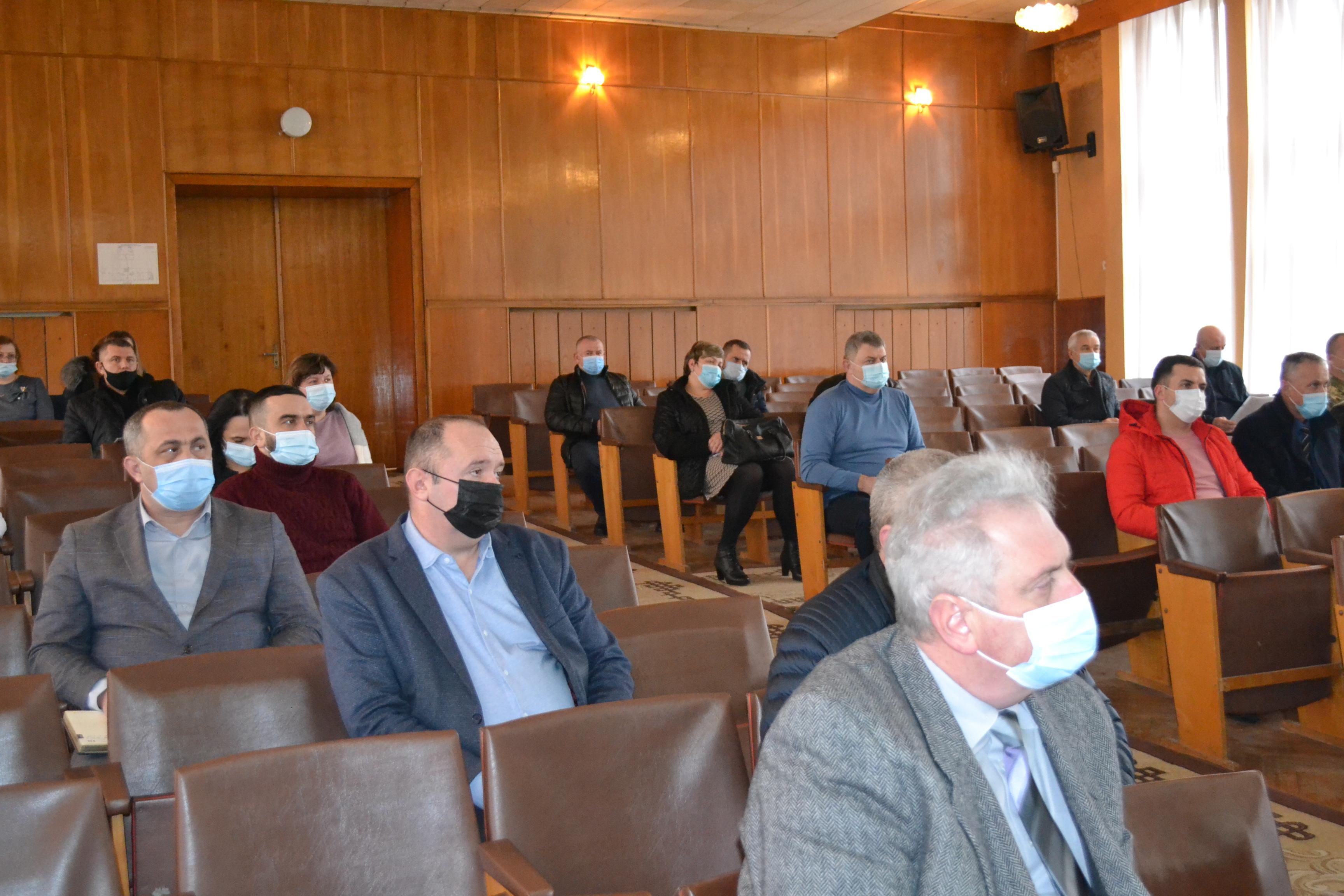 Це перша зустріч у такому складі, де були присутні голови або заступники всіх територіальних громад нового Берегівського району.
