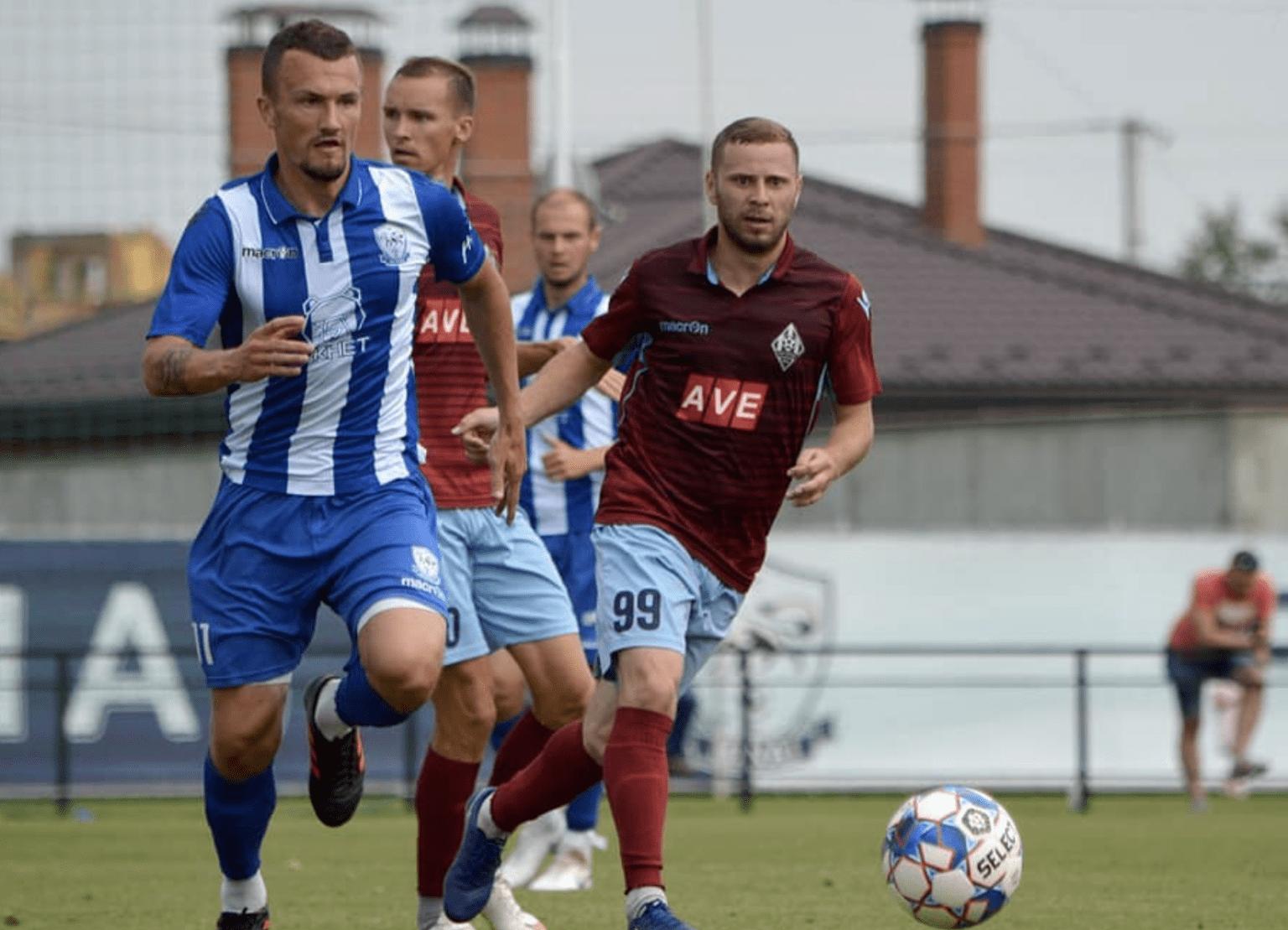 Сьогодні відбувся товариський матч двох ужгородських команд.