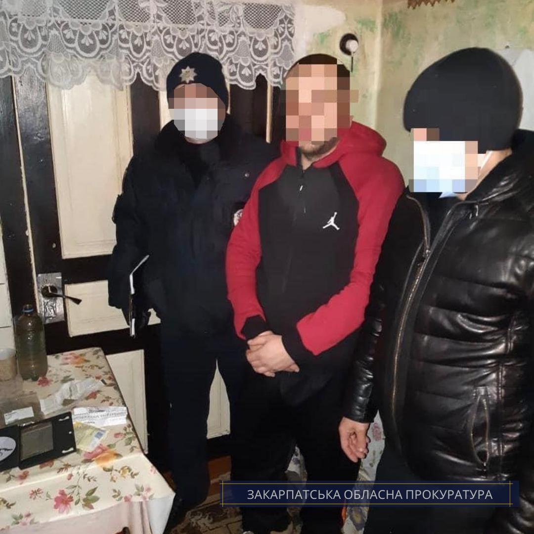 За доводами прокуратури взято під варту підозрюваного у наркоторгівлі жителя Іршавщини.