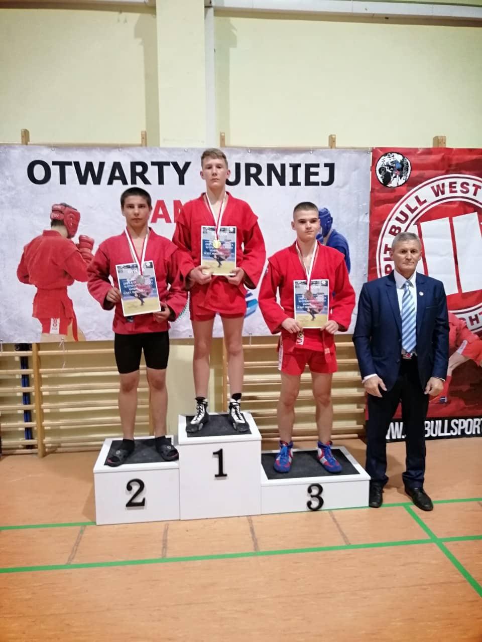 Вихідними в Кракові (Польща) відбувся відкритий міжнародний турнір з боротьби самбо.