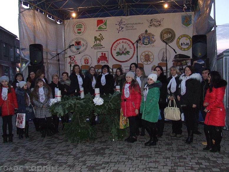 Третю свічку Адвенту в Берегові запалював КМКС / ФОТО