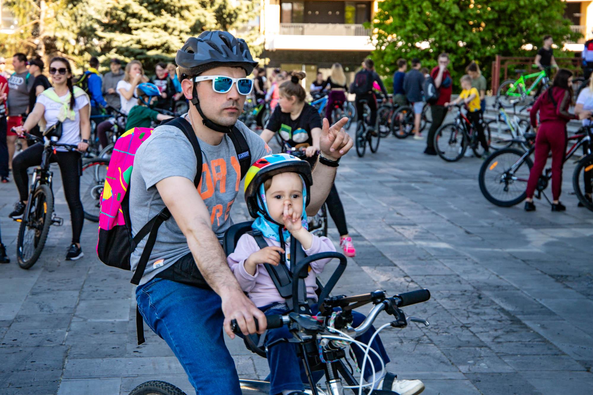 Велозаїзд «Big City Ride» організувала в Ужгороді Закарпатська туристична організація.