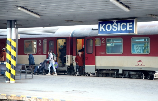 З 9 червня цього року розпочинають курсування поїзди № 960/961, 962/963 Кошице – Мукачево – Кошице складами дизель-поїздів ZSSK евроколією.