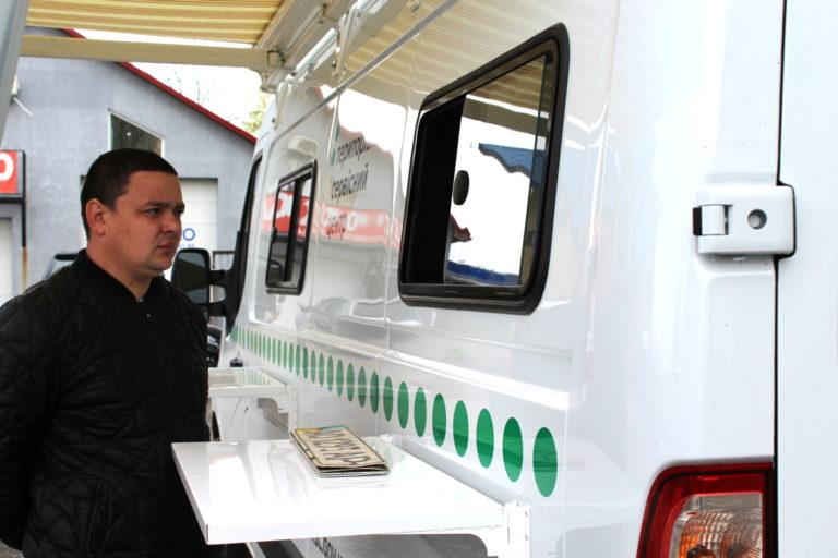 У Виноградові працюватиме мобільний сервісний центр МВС