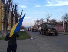 Бійці закарпатської 128-ї бригади повернулися з Донбасу додому (ВІДЕО)