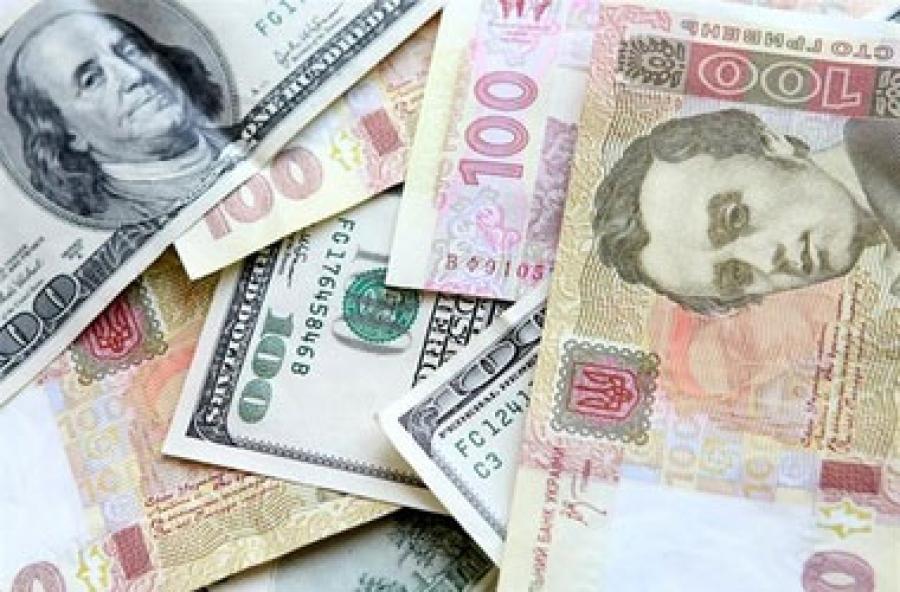 Курс долара, згідно з даними Нацбанку, зріс на десять копійок, євро - подорожчав на одну копійку.