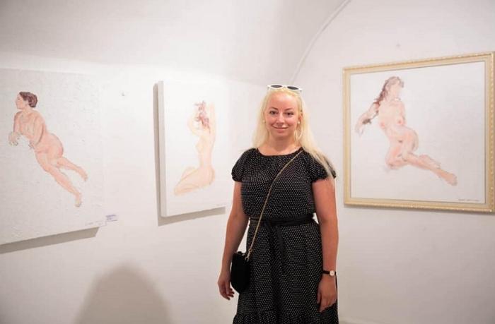 Рената Протасова виставила 14 картин у галереї Steiner Art & Wine — одній із найпрестижніших у Відні.
