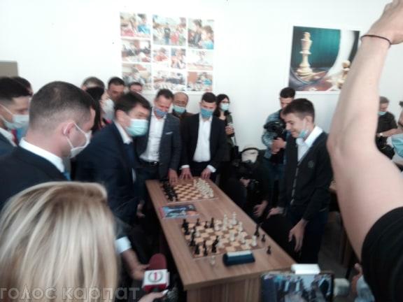 У Мукачеві відбулося відкриття «Палацу культури і мистецтв».