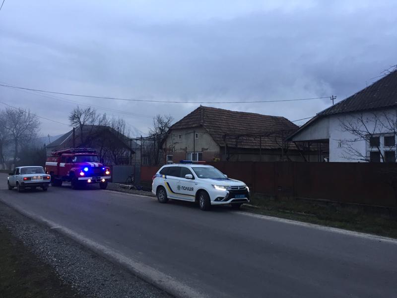 6 лютого в с. Білки Іршавського району виникли одразу дві пожежі.