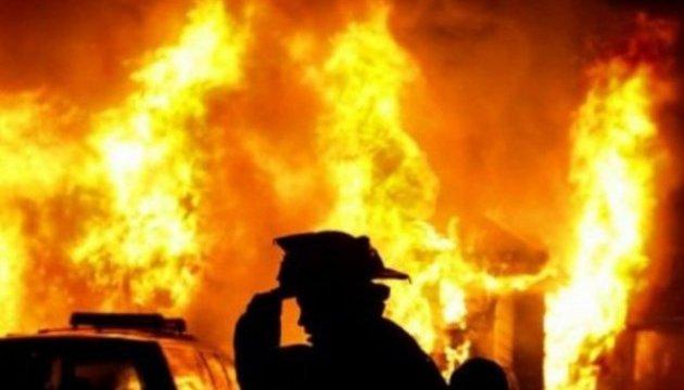 У Виноградові сталася масштабна пожежа