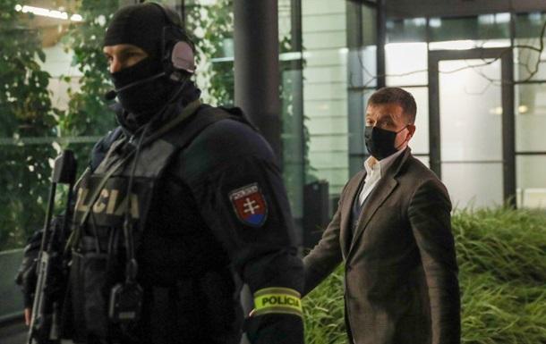 Ярославу Гашчаку було пред'явлено звинувачення в корупції за незаконне отримання даних секретних прослушок.