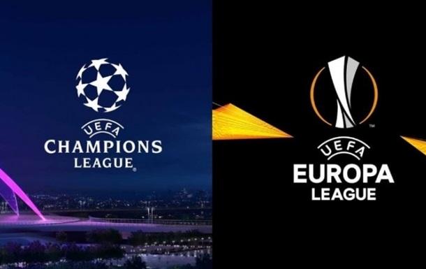 Україну в єврокубкових турнірах представлять п'ять клубів. Динамо почне боротьбу з третього кваліфікаційного раунду.