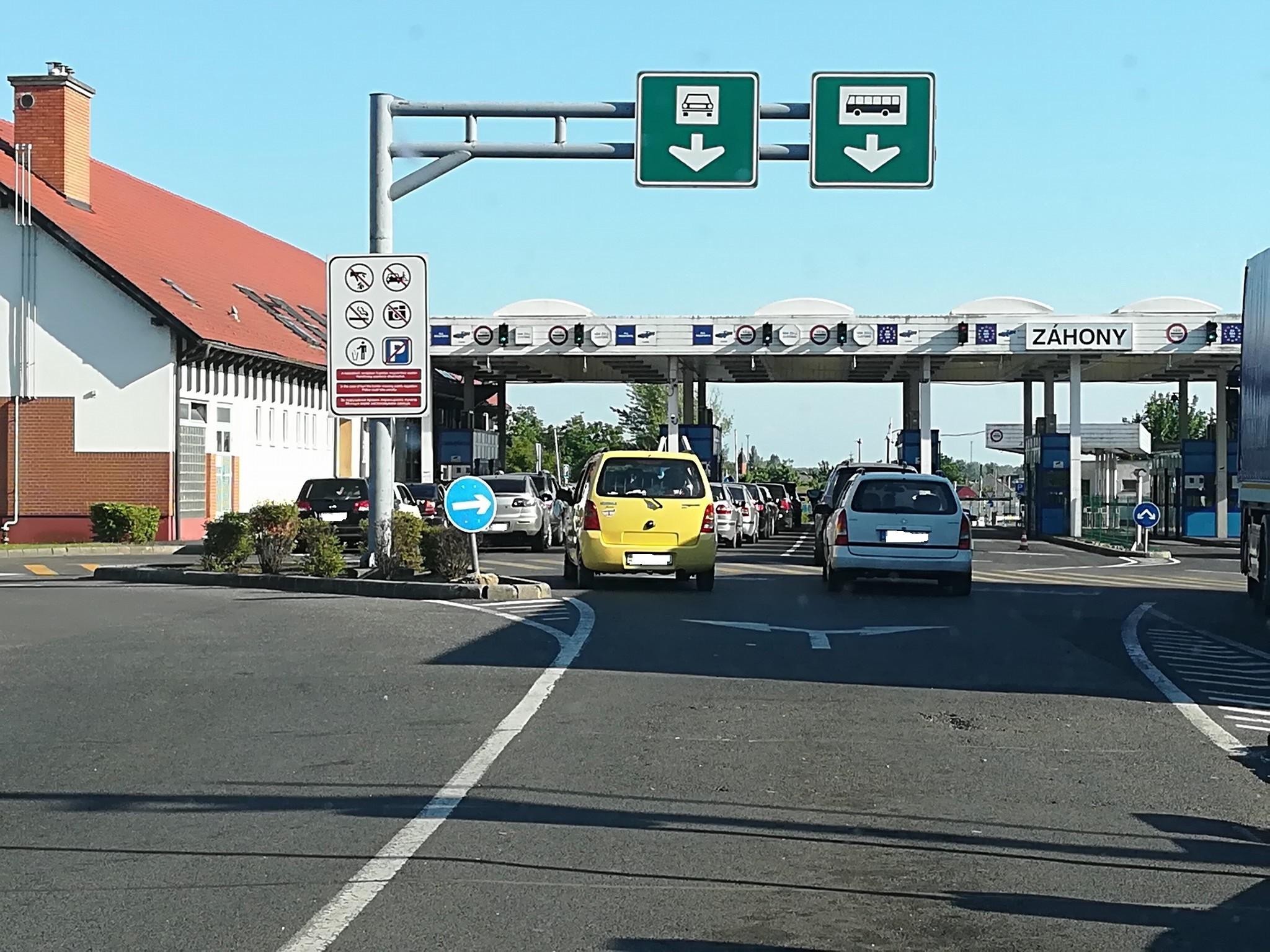 Бажаючим швидше в'їхати на територію Угорщини рекомендують обрати інші КПП.