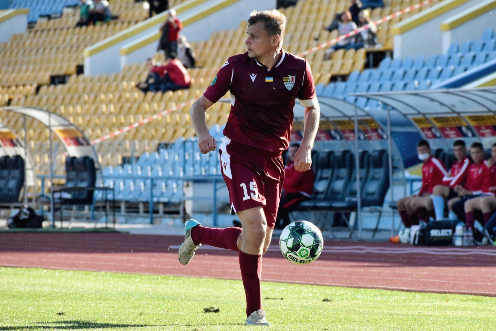 Гравець проаналізував виступ команди у першому колі чемпіонату Другої ліги, розповів про підготовку до другої частини змагань, а також про мікроклімат у колективі.