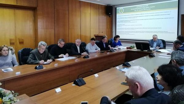 У п'ятницю, 7 лютого, Вчена рада УжНУ у складі 56 осіб зібралася на робоче засідання.