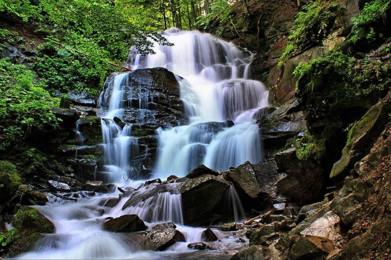 Шипіт – одне з семи природних чудес України і найкрасивіший водоспад на Закарпатті