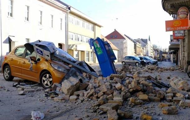 Під час інтерв'ю мера хорватського міста Петрина сталися чергові підземні поштовхи, що потрапили в прямий ефір місцевого телеканалу.