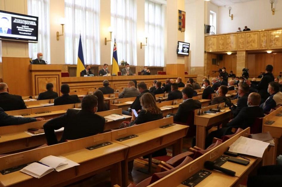 Депутати обласної ради підтримали пропозиції голови Закаратської ОДА.
