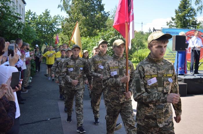 У вівторок, 4 червня, в с. Бобовище на Мукачівщині розпочався ІІ (обласний) етап Всеукраїнської дитячо-юнацької військово-патріотичної гри «Сокіл» («Джура»).