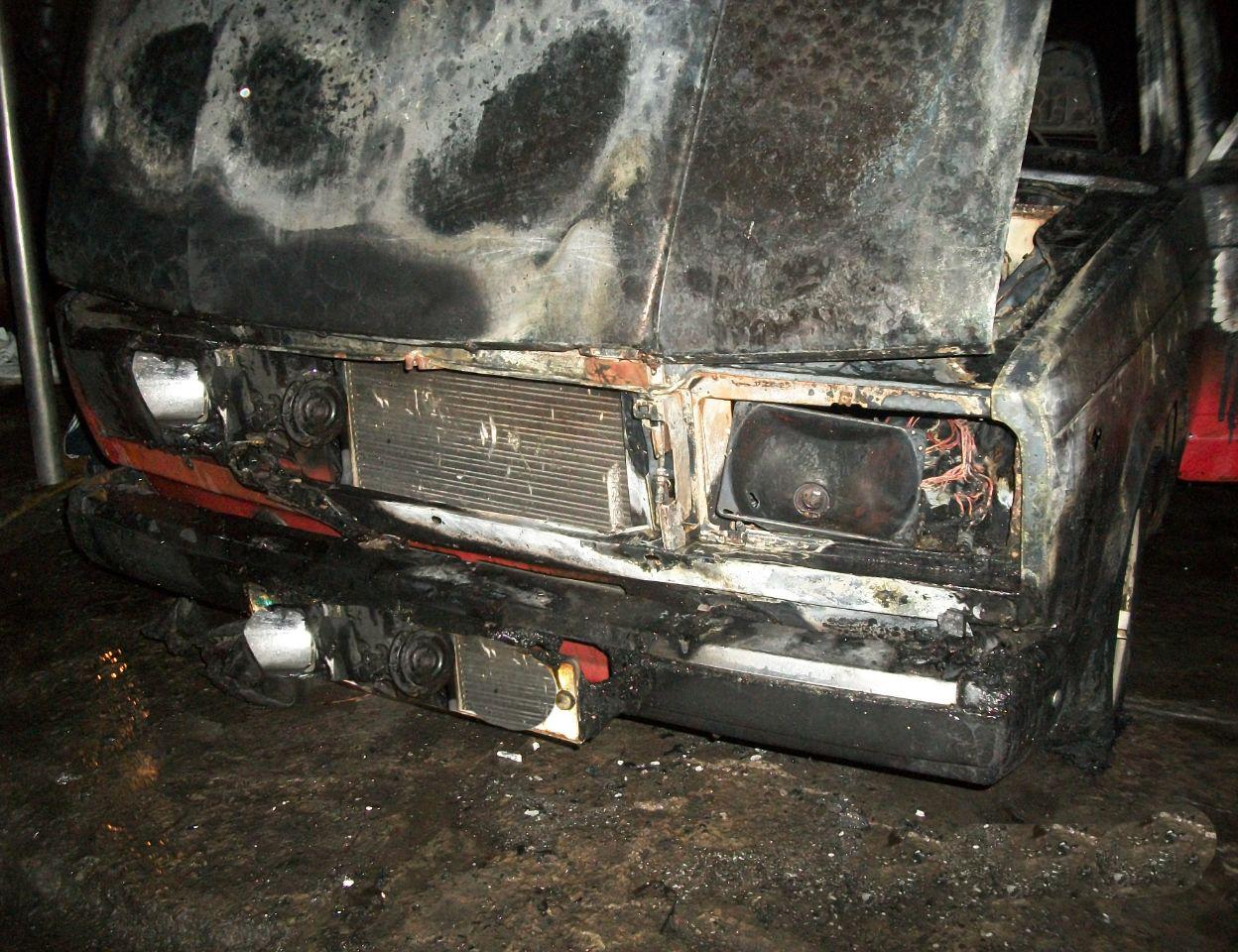 Пожар произошел в селе Вертеп на улице Коцюбинской.