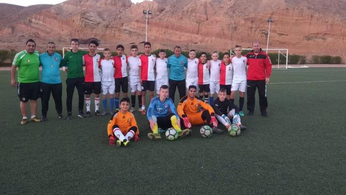 Команда берегівського ДЮСШ провела тижневий тренувальний збір в єгипетському місті Шарм-ель-Шейх.