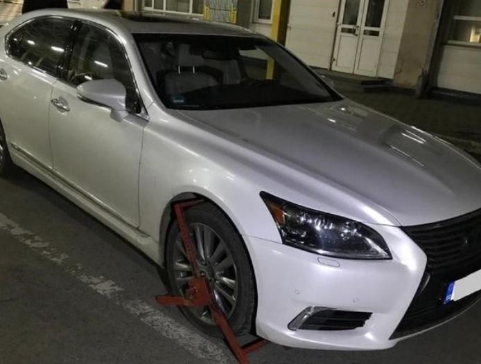 Учора ввечері прикордонники Чопського загону виявили автомобіль, розшукуваний Інтерполом як викрадений.