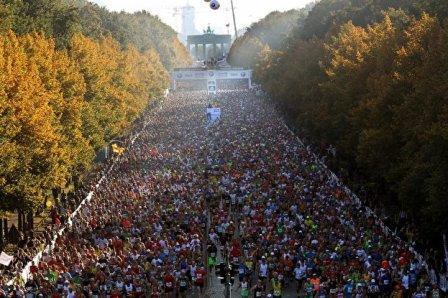 У Берліні 28-29 вересня  відбувся щорічний марафон BMW Berlin Marathon, який проводиться у Німеччині із 1974 року.