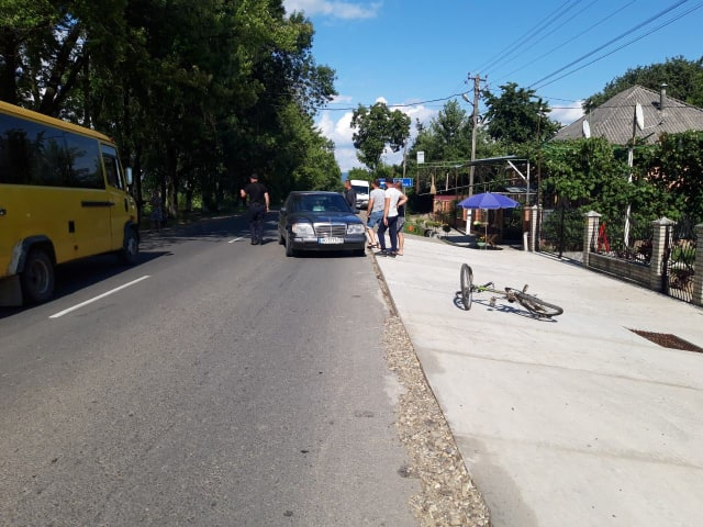 Вчора, 10 липня, близько 16:10 до поліції Виноградова надійшло повідомлення про аварію з потерпілим у селі Руська Долина.